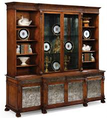 corner cabinets dining room. Breakfront China Cabinet High End Dining Rooms, Home Furnishings Corner Cabinets Room
