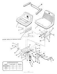 Toro 31 20oe02 520 h garden tractor 1989 parts diagram for seat diagram seat