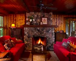 Models Cozy Living Room With Fireplace Gorgeous 0367 Traditional For Ideas