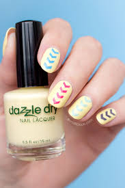 dazzle dry frozen lemonade review swatches