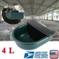$23.99 - 4L <b>Automatic Water</b> Bowl Trough Horse Cow Dog <b>Drink</b> ...