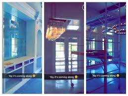 Inside Kylie Jenner    s £   m Calabasas house in Los Angeles    Kylie has been sharing a step by step account of her home renovations after