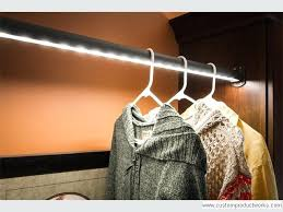 led lighted closet rod hafele
