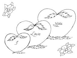 Heart Shape Coloring Page Printable Heart Shape Coloring Page Heart