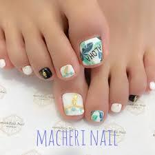 フット夏ネイル Aloha Macherienail Nails Gelnails マシェリ