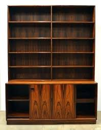 mid century modern bookshelf bookcase danish rosewood in excellent condition for modular shelving unit mid century modern bookshelf