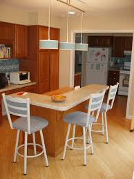 kitchen island breakfast bar pendant lighting. Inspiring Kitchen Design Ideas Using Custom Made Islands : Charming L Shape Decoration Island Breakfast Bar Pendant Lighting B