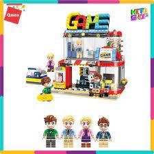 Toyworld] Bộ Đồ Chơi Xếp Hình Thông Minh Lego Qman: Phòng Hóa Trang 1135 Cho  Trẻ Từ 6 Tuổi 461 Mảnh Ghép chính hãng 319,000đ