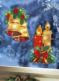Fensterdeko Und Fensterbilder Für Weihnachten Brigitte