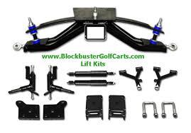 blockbuster golf cart parts golf carts for their e z go golf cart lift kits