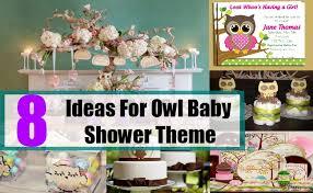 Owl Baby Shower Decor