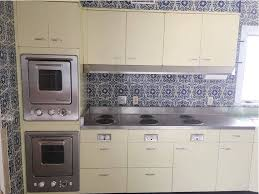 were stainless steel appliances use in