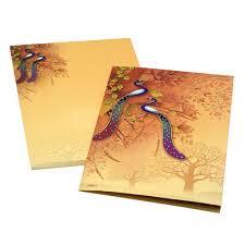 Wedding Card Design Cardboard Book Style Indian Wedding Cards Dimensions 10 X 8 Inch