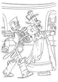 Get your free printable robots coloring pages at allkidsnetwork.com. Robots The Movie Coloring Pages
