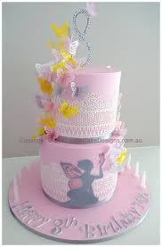 Fairy Theme Girls Birthday Cake In Sydney By Elitecakedesigns