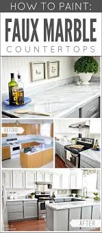 Small Picture Best 10 Faux marble countertop ideas on Pinterest Faux granite