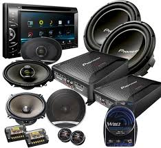 sound system car. radio autosonic sound system car