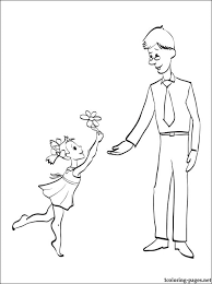 Small Picture Coloring sheet for Fathers Day Coloring pages