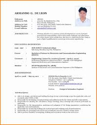 6+ Current Resume Formats | Mail Clerked