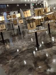 Image Polished Concrete Shades Of Color Denver Parker Colorado View Business Finishes Commercial Interior Finishes No