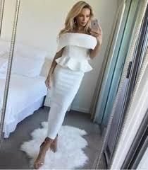 Summer <b>Dress</b> Romantic Bodycon White <b>Runway Dresses 2017</b> ...