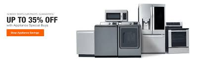 up to 35 off with appliance special s