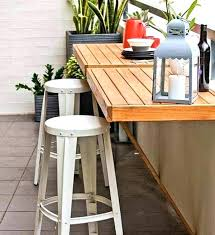modern furniture for small spaces. Small Space Outdoor Furniture Patio Brown And White Square Modern Wooden For Spaces