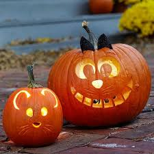 Cute easy pumpkin design pumpkin carving ideas Halloween crafts for .
