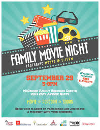 Movie Flyer Catholic Charities Of Tennessee Family Movie Night 17