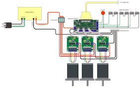 support wiring diagrams 3 axis probostep w switching power supply and pbx 2