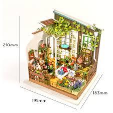 1 x forest house diy miniature doll house