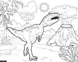 t rex coloring sheet
