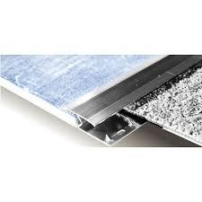 carpet trim. chrome tile to carpet strip trim r