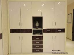 custom wardrobe design with with sliding door