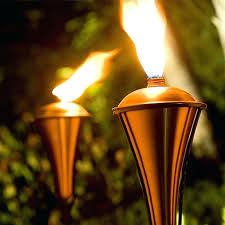the best outdoor gas lighting options for your backyard yard torch