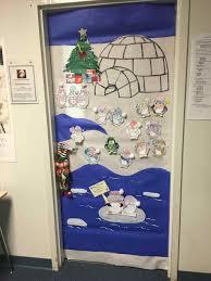 winter door decorating contest. Holiday Decorating Contest U Adventures In Speech At P Ps Winter Wonderland Door Decorations O