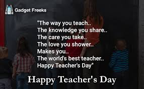 Teacher Message Happy Teachers Day 2019 Messages Sms To Share With