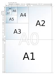 Paper Size Chart Pdf Paper Size Simple English Wikipedia The Free Encyclopedia