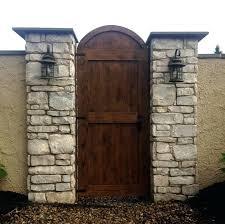outside garden doors custom cedar garden gate outside garden gates at