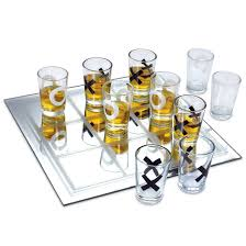 tic tac toe shot glass game kovot fresh fun and functional home accessories