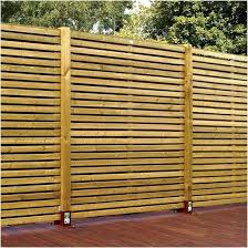 horizontal wood fence panels. Horizontal Wooden Fence Wood Panel A Unique Panels Com The Image .