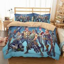 personalised fortnite bed sets