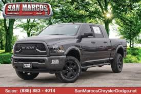 New 2018 Ram 2500 For Sale at San Marcos Chrysler Dodge Jeep Ram ...