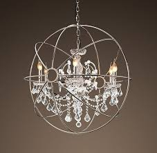 19 brushed nickel crystal chandelier add a classic touch chandeliers gorgeous intended for 17