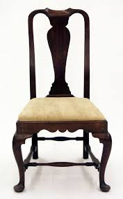 Chapter 16 Queen Anne Fiddle Back Chair United States