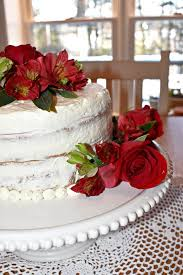 White Cake With Strawberry Cream Filling Thm S
