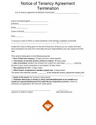 tenancy termination letter template. End Of Tenancy Letter Templates