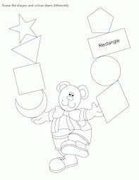 Color Shapes Worksheet#512049