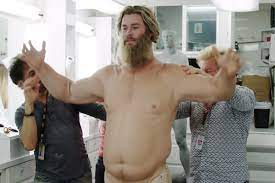 Chris Hemsworth Wore a 70-Pound Fat Suit to Play Thor in Avengers: Endgame