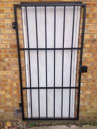 steel security grilles glass door security grill images doors design for house